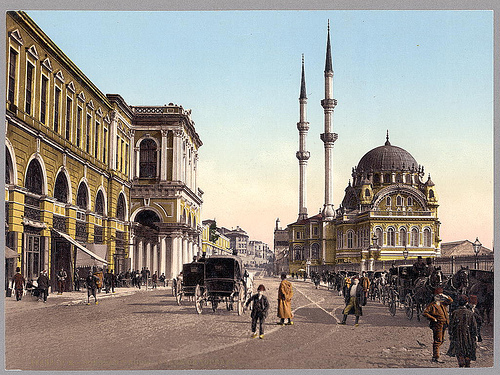 Place de Tophane, Constantinople
