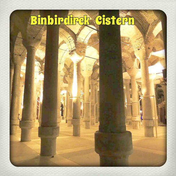 Κωνσταντινούπολη: Το υδραγωγείο του Φιλόξενου ή  Binbirdirek