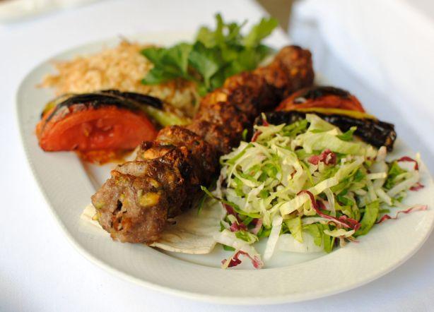 Festiki (pistachio) kebab