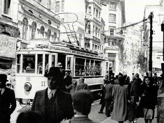 Istanbul, Karaköy - 1945